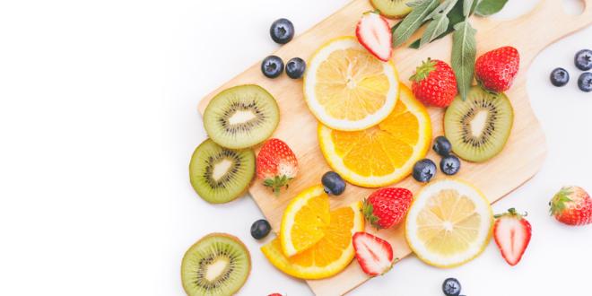 ビタミン豊富な食事