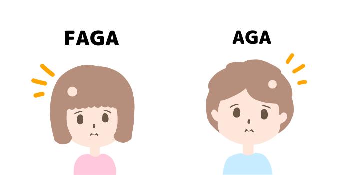 AGAとFAGA